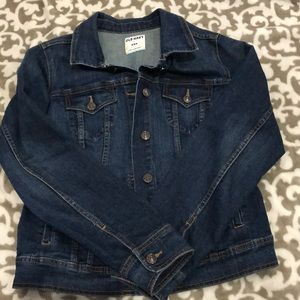 Old navy medium jean jacket euc